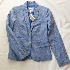 J. Crew Blue Schoolboy Blazer 0 XS NWT!